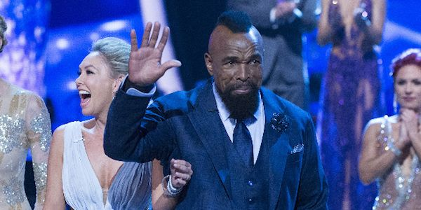 Someone on the Good Morning America staff was likely laying low most of the morning after getting some veiled threats from Mr. T over his Dancing with the Stars elimination.
