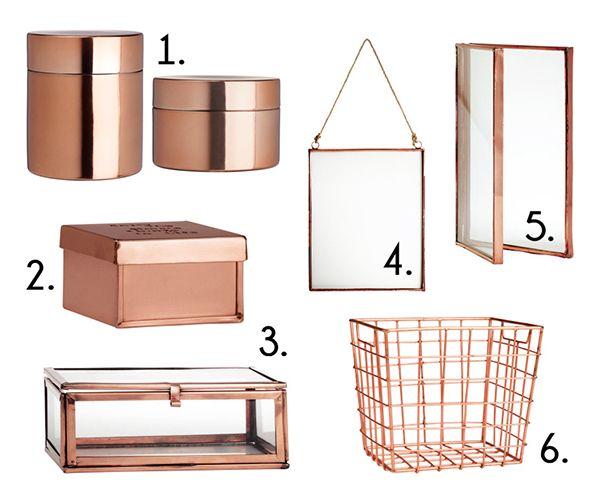 copper home decor accessories
