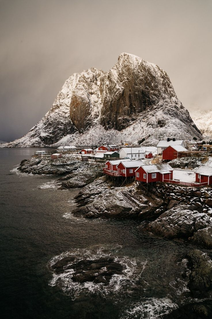 Morning at Lofoten, Norway
