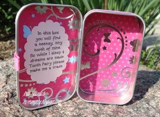 Tooth Fairy Box - inside