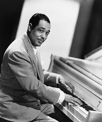 Duke Ellington (1899 - 1974) Jazz Legend. Jazz composer, bandleader and pianist, often reffered to as America's most prolific composer of the twentieth century.
