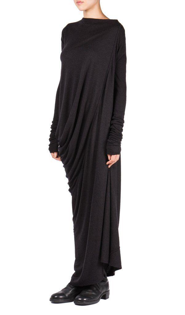 LS Boatneck Dress