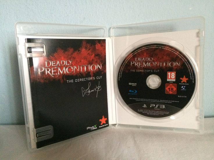 Deadly Premonition The Director's Cut game opened.