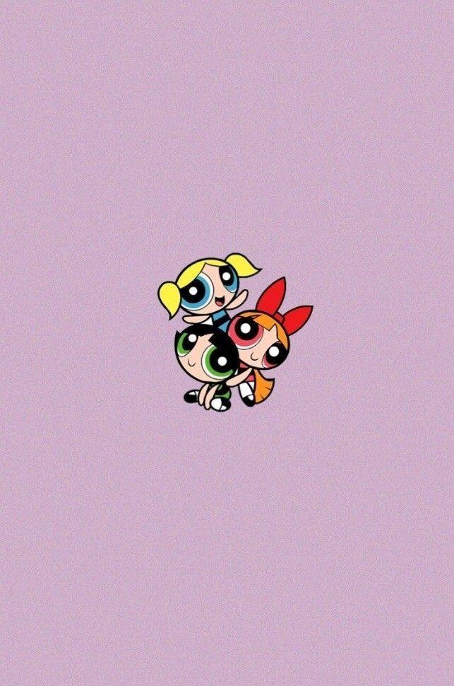 Three Musketeers Powerpuff Girls Wallpaper Cartoon Wallpaper Wallpaper Iphone Cute