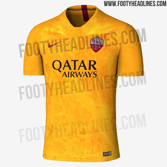 Nike AS Roma 18-19 Third Kit Leaked - Footy Headlines  2947ec0dd