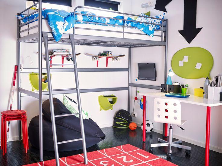 Ev ödevlerini bile sevdirecek odalar IKEA'da.