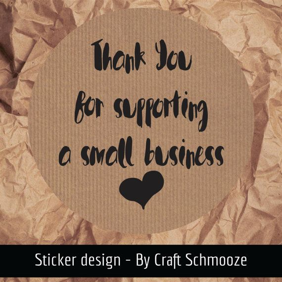 Kraft, Thank you for supporting a small business labels, kraft business stickers by craftschmooze. Explore more products on http://craftschmooze.etsy.com