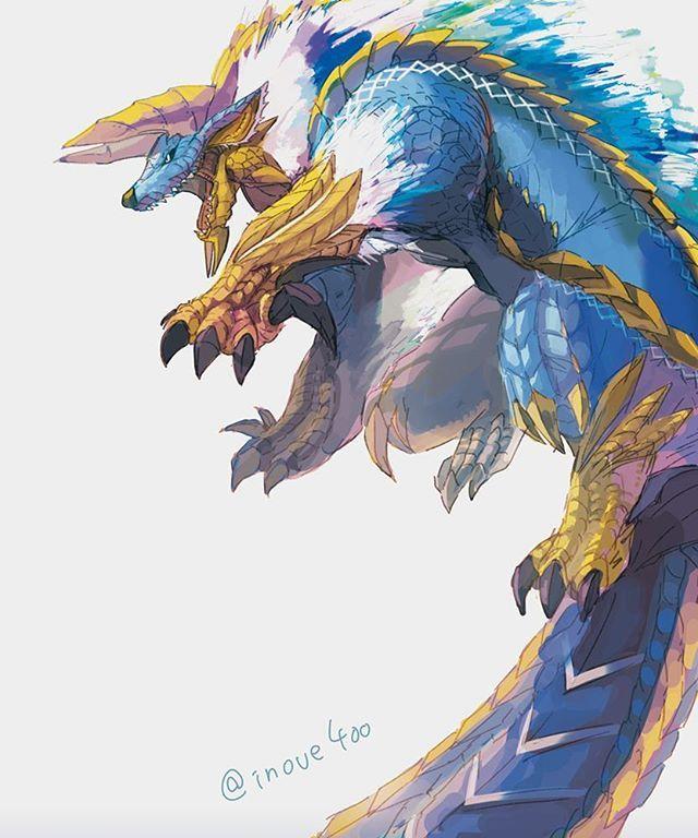 Monster Hunter [Fan Art] - (#mh #mh4 #mh4u #mh4g #mhx #monsterhunter…