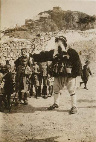 Skyros Carnival, ca. 1935. ASCSA, Gladys Davidson Weinberg Photographic Collection