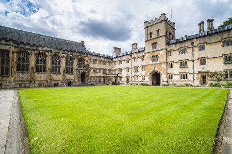 Exeter College, University of Oxford, Oxfordshire, England, United Kingdom, Europe Photographic Print