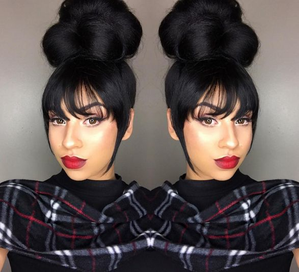 When in doubt, bun it out says @beautifiya - http://community.blackhairinformation.com/hairstyle-gallery/updos/doubt-bun-says-beautifiya/