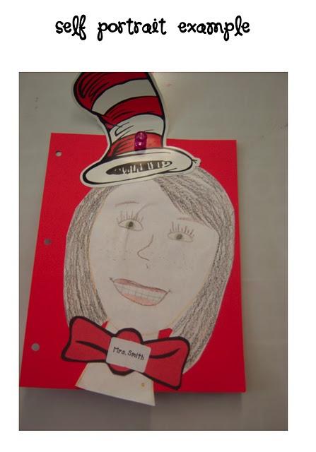 (E) Dr. Seuss self portait | Classroom Activities | Pinterest | Teacher, Classroom and School