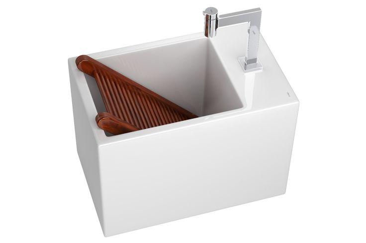 ótima solução para uma cozinha de apartamento integrada e sofisticada (ideal para ser usado na lavanderia)