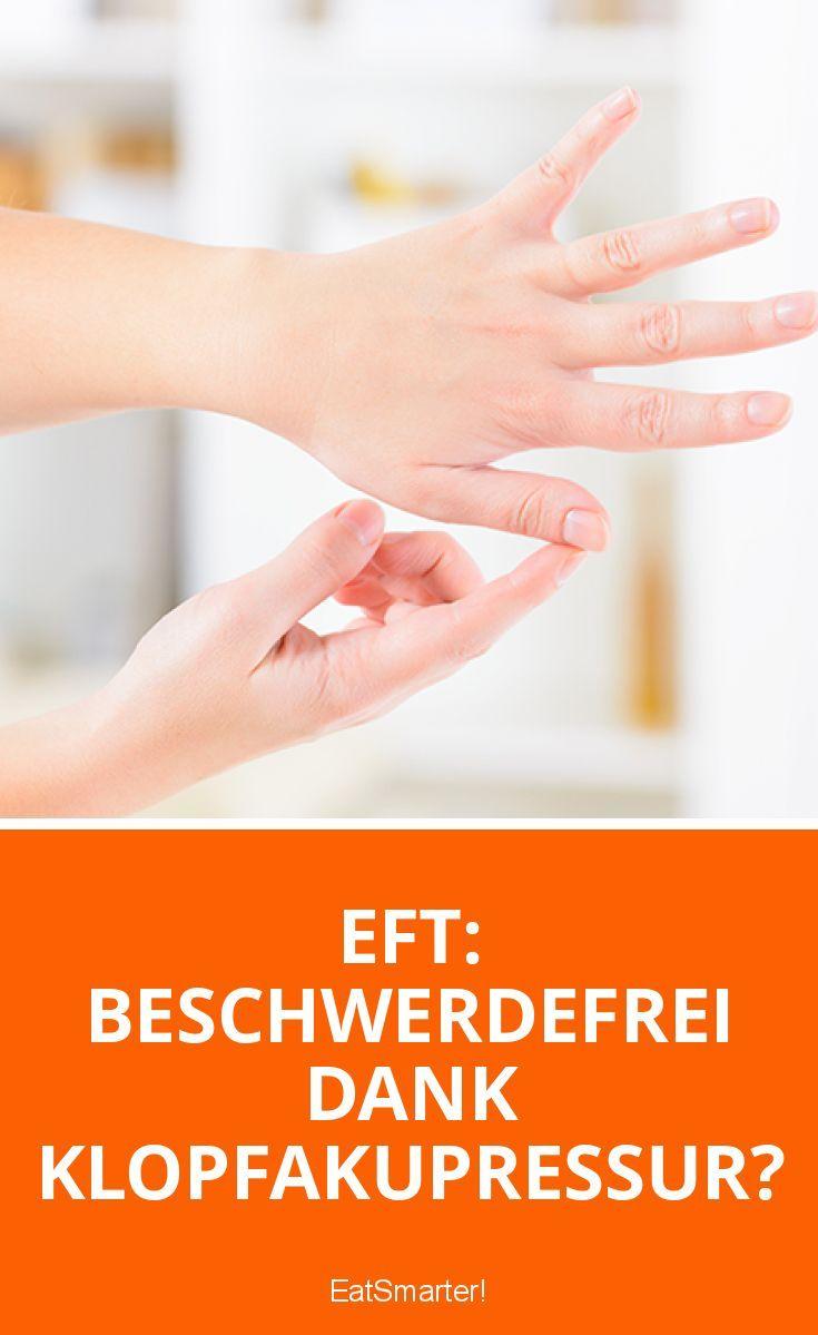 Stress, Blockaden, Ängste: Diese und weitere emotionale sowie körperliche Beschwerden sollen mithilfe der EFT Klopfakupressur gelindert werden können.