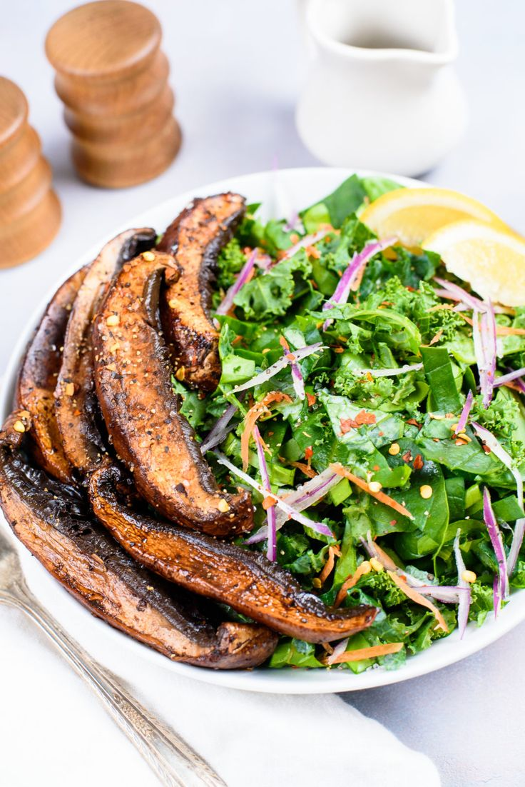 Swet and Spicy Portobello Mushrooms Beauty Detox Kimberly Snyder
