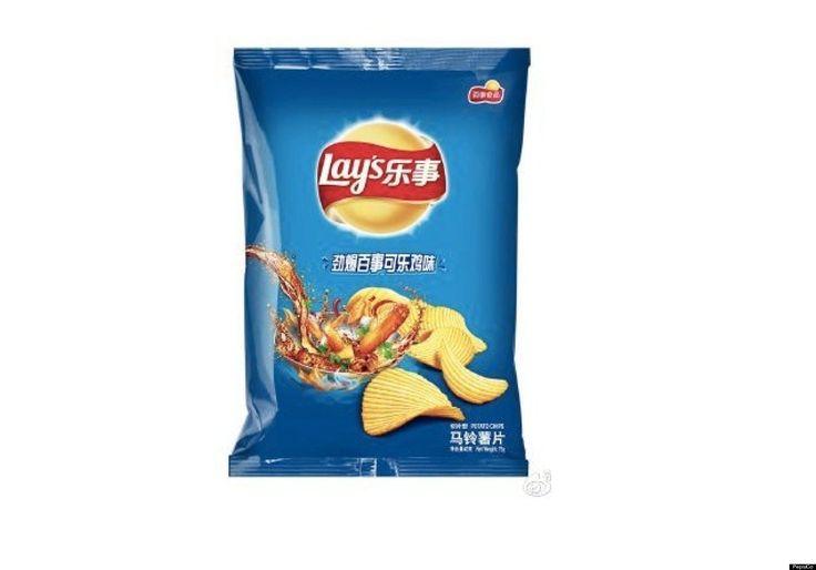 Market segmentation of lays chips