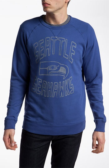 Junk Food 'Seattle Seahawks' Sweatshirt available at #Nordstrom $64