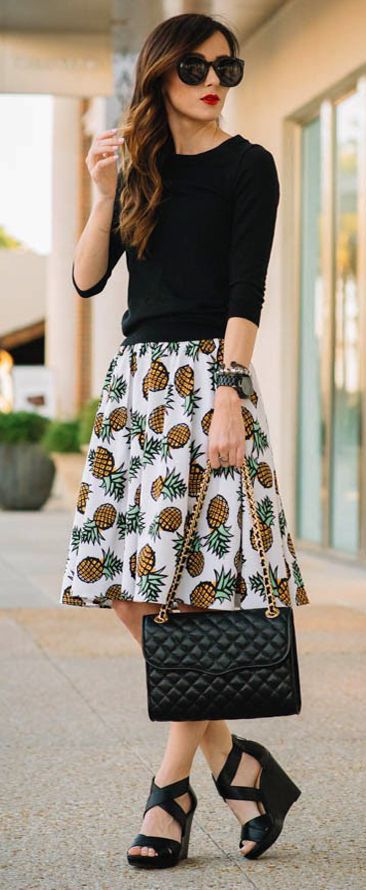 online shopping for clothes and shoes street style pineapples