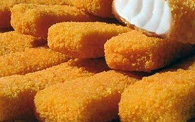 Bastoncini di pesce al microonde