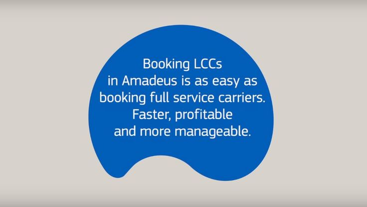 easyJet – Amadeus empower travel agencies to overcome challenges when booking LCCs  #LCCs #Airline