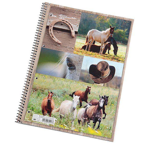 Krämer Collegeblock Pferde DIN A4 - 621124