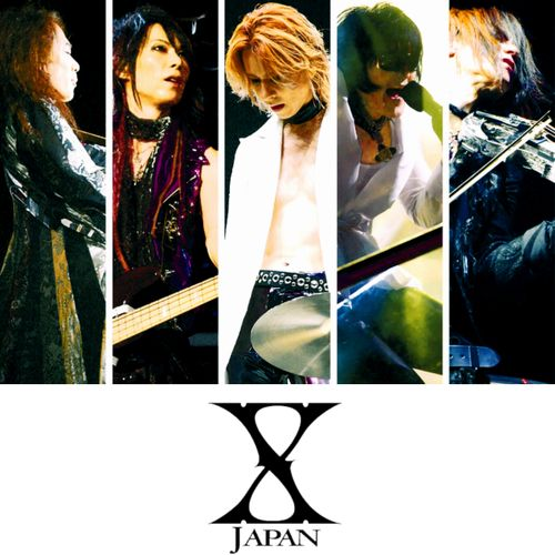 I ❤ X Japan! My ultimate favorite band. Seriously love them, they bring out all kinds of emotions from me. So so glad I came across their music and also glad they're still continuing today. Pata, Heath, Yoshiki♡, Toshi, Sugizo, and Hide(RIP). Love you all.♡