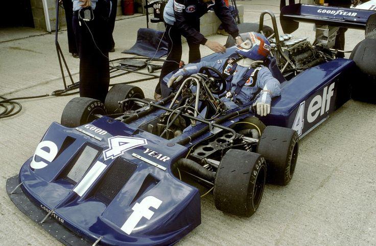 Patrick Depailler, Tyrrell P34, 1977 British Grand Prix