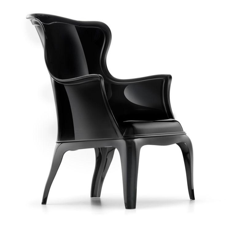Higher Event's Black Pasha Arm Chair