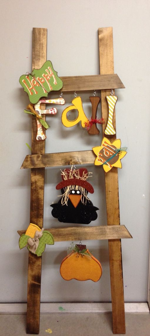 Fall Ladder Kit from Wood Creations