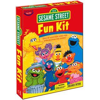Sesame Street Fun Book