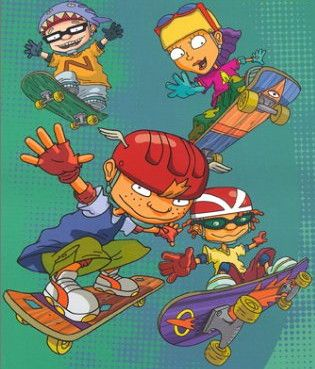 rocket power :) we are riders on a mission! this was my show!