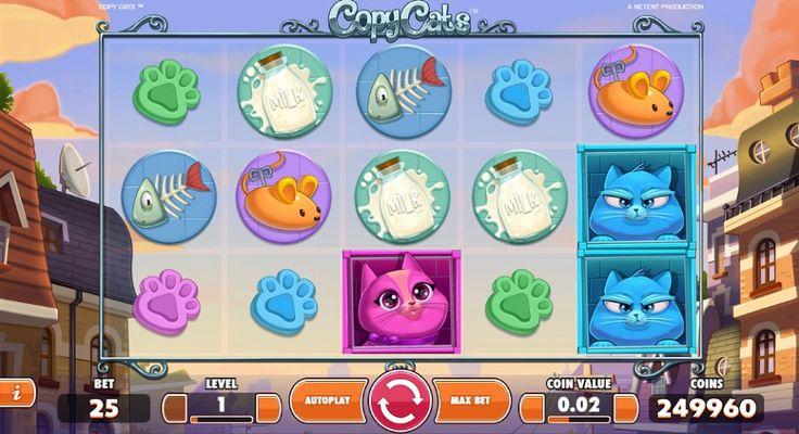 Veselé, různobarevné čtyři koťata se podělí s každým hráčem o neobyčejné výhry na automatu Copy Cats. Vejděte do pohádkového světa hravých koček s množstvím překvapení, a vaše herní konto poroste neuvěřitelnou rychlostí. #hraci #vyherni #automat #zadarmo #jackpot