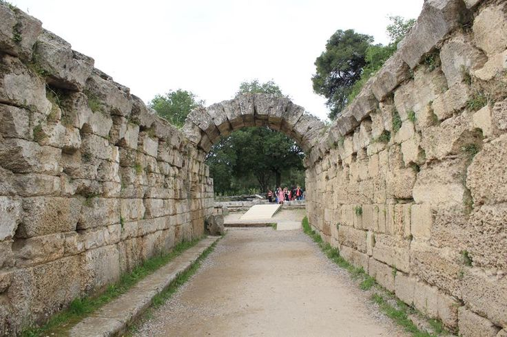 The Entrance to the Ancient Olimpia Stadium, Greece