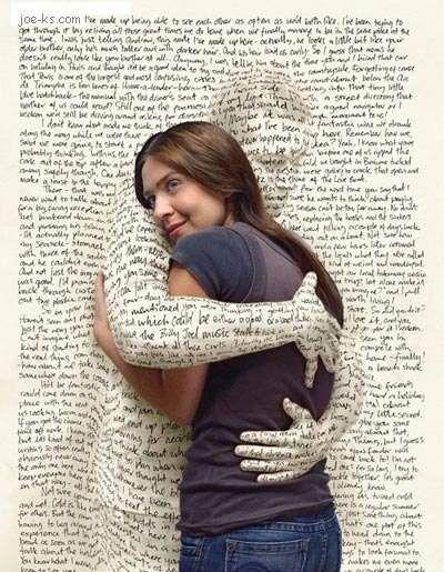 Etreinte littéraire