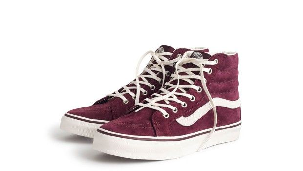 Discovered: Classic Vans® High-tops at J.Crew