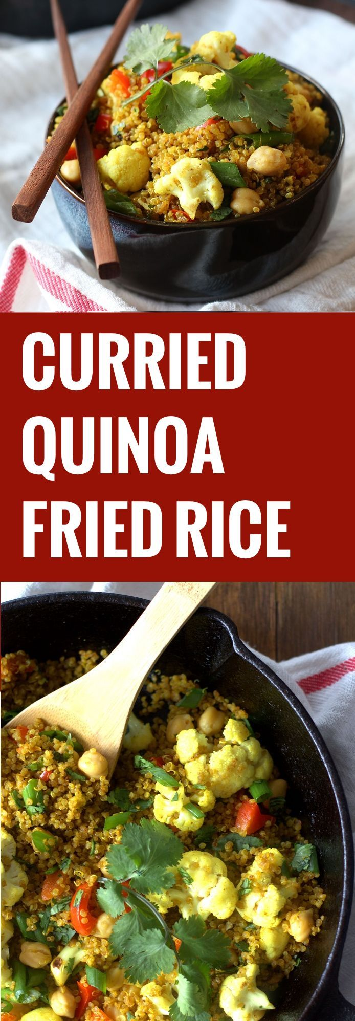 Quinoa Instead Of Rice With Indian Food