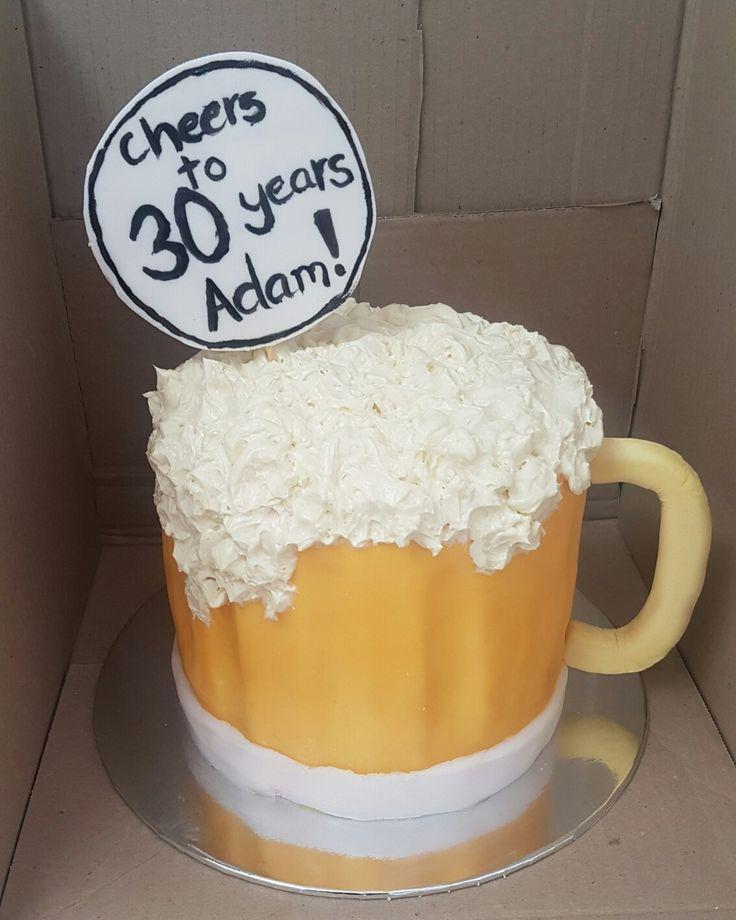 17 Best Ideas About Beer Mug Cake On Pinterest