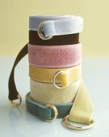Make cute velvet Ribbon Belts for cute gifts for bf   The tutorial is here:  http://www.marthastewart.com/article/velvet-ribbon-belts?backto=true