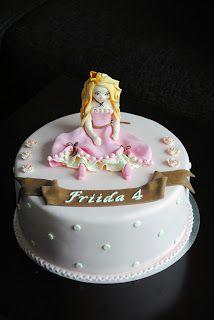 Homemade by MI: Friidan prinsessakakku / a Princess cake for Friid...