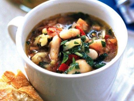 Texmexsoppa med grönsaker och bönor Receptbild - Allt om Mat