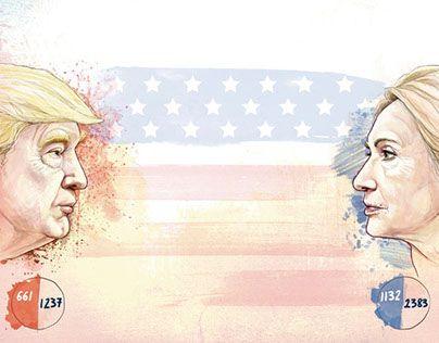 """Make a plan for the i paper on primary elections in the US  @Behance portfolio: """"Jornal i- Eleições EUA"""" http://be.net/gallery/35254295/Jornal-i-Eleicoes-EUA"""