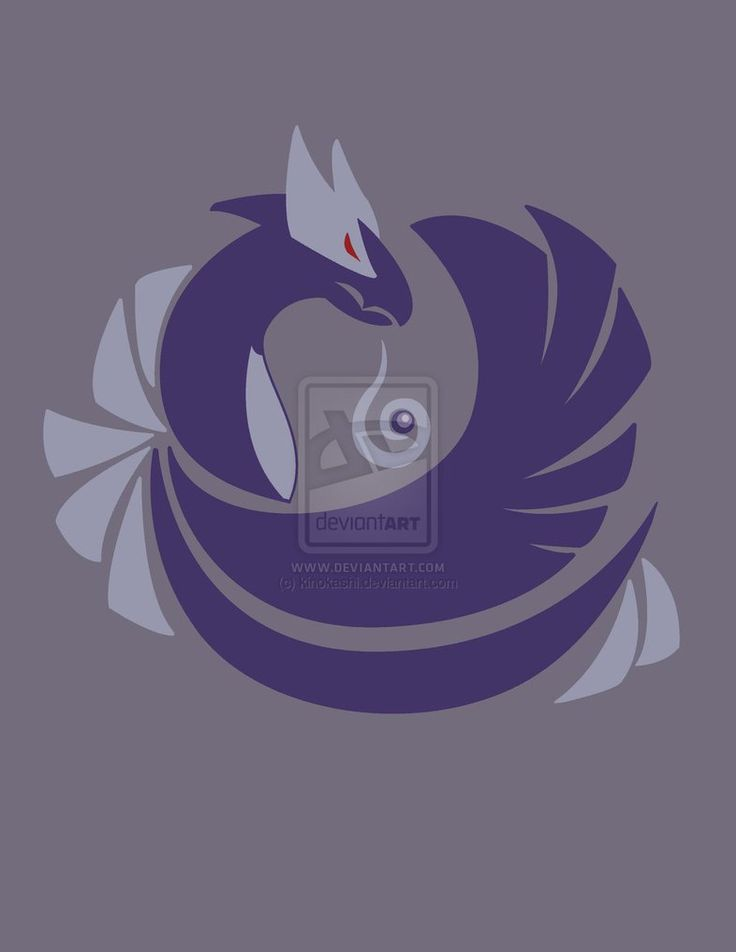 Tainted Silver - Shadow Lugia by kinokashi on deviantART