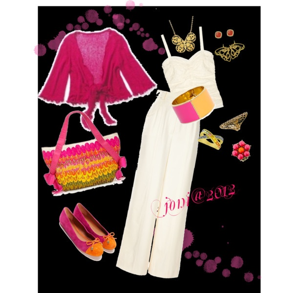 pinks, created by nonabella43 on Polyvore