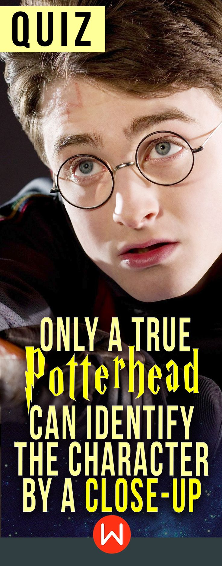 Quiz: ONLY a true Potterhead can identify the character by a close-up image! Can you? HP quiz, Harry Potter trivia test, JK Rowling, buzzfeed quizzes, playbuzz quiz, wizarding world quiz, hogwarts. Keep your friends close...and your Harry Potter characters closer!