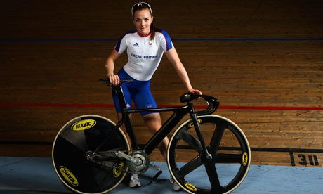 cycling women photos   God save the queen ... track cyclist Victoria Pendleton poses at ...