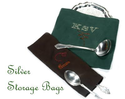Diy Silver Storage Bags With Pacific Cloth Ideas To Try