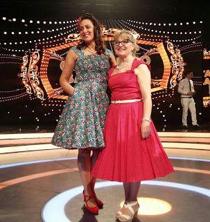 Mercedes e Vania per le loro esibizioni di canto...indossano lo Stile Une Nouvelle Vie !