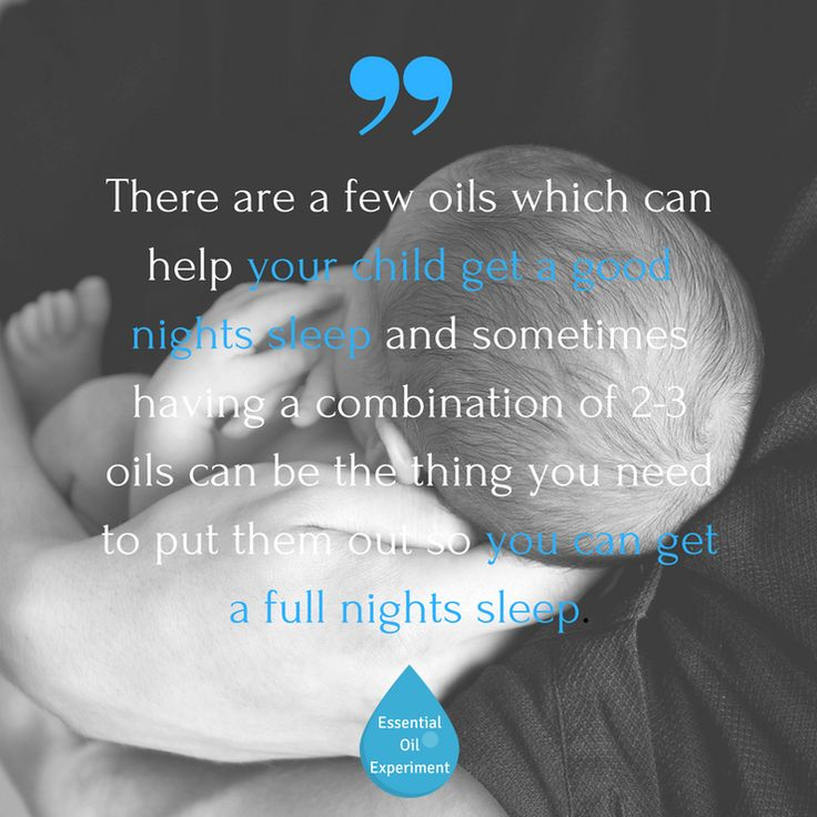Essential Oils for Autism - how to help your child get a good nights sleep!
