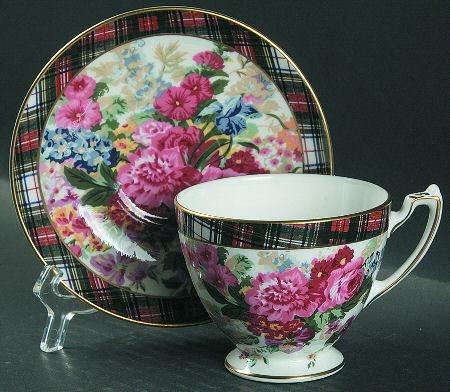 RL Hampton Floral: Saucer