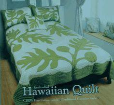 Hawaiian Quilt comforter: Ulu